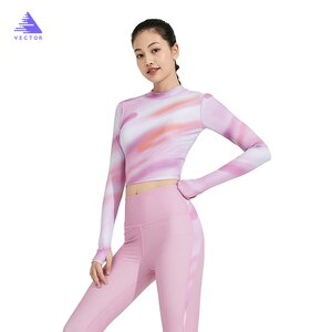 VECTOR Women's Swimming Suits UPF 50+ Swimwear Sunscreen Diving Suit Female Long-sleeved Swimsuit Snorkeling Surfing Suit Slim
