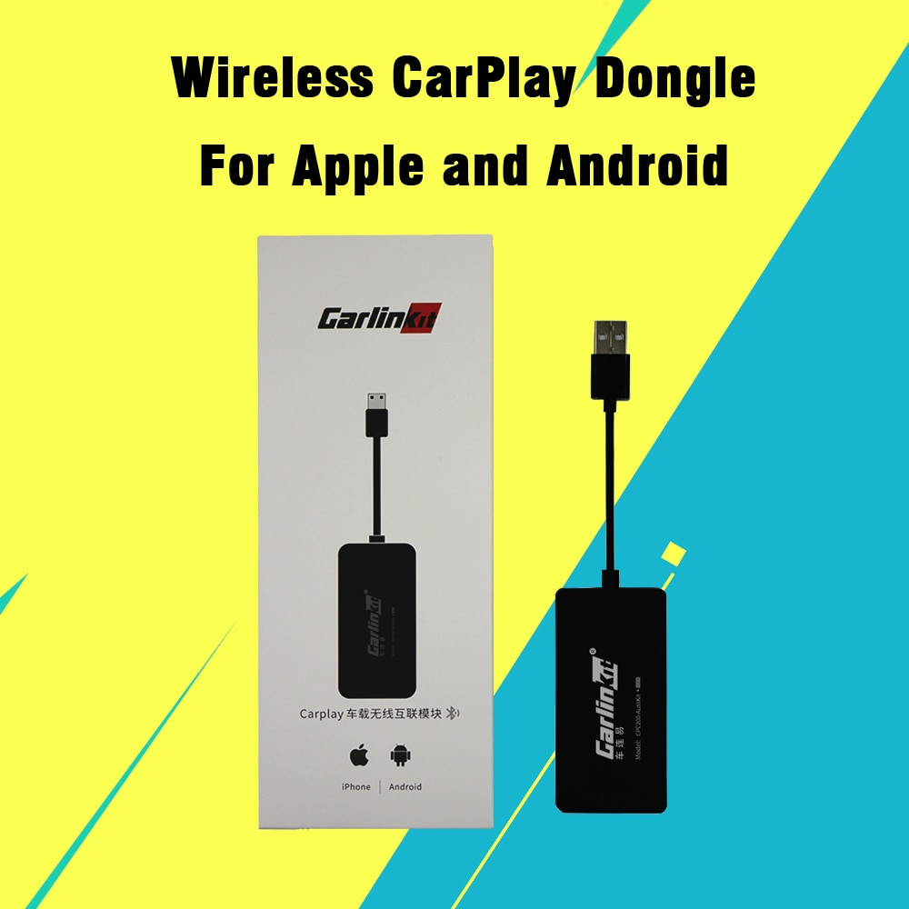 Carlinkit اللاسلكية CarPlay دونغل لابل هواوي سامسونج أندرويد السيارات الذكية لينك USB دونغل محول أندرويد نظام الوسائط المتعددة