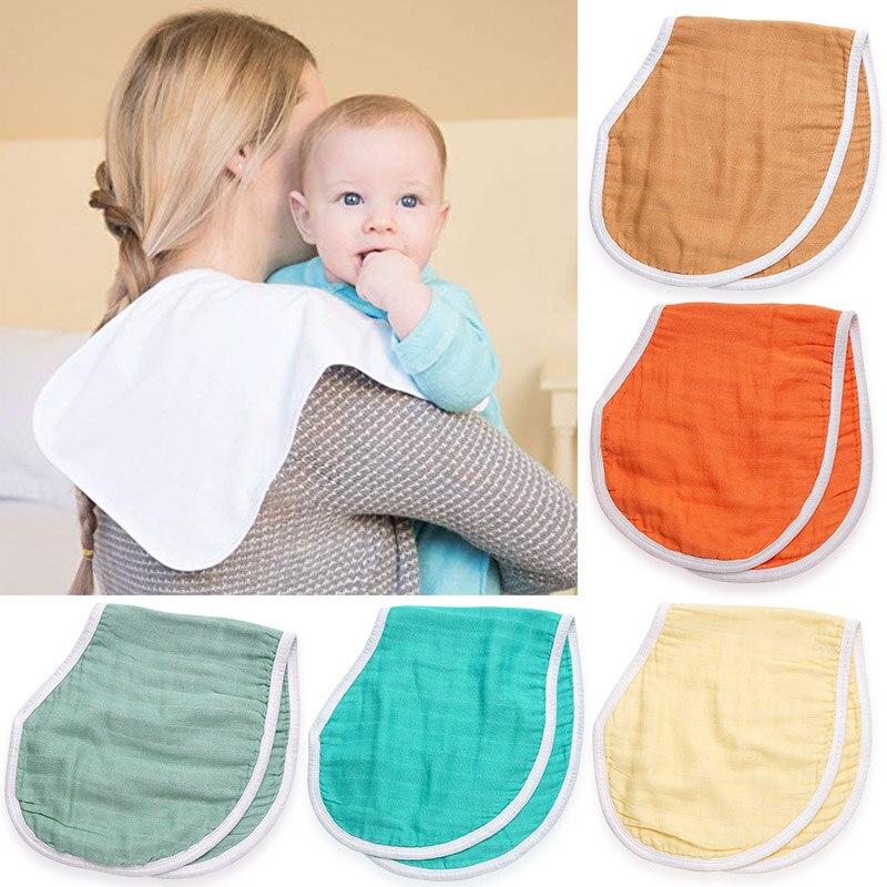 Moda baberos Bandana bebé bufanda babero paños recién nacido Color sólido Saliva toalla Slabbetjes bebé cosas Dropship