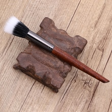 Retro Makeup Brushes Cream for Foundation Powder Brush Set Wooden Handle Fiber Hair Beauty Tool Wome