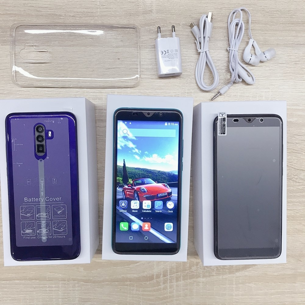 Model 9 6GB+128GB Smartphone 5000mAH Global Version 4G Smart Cell Phone 6.1inch 13MP Dual SIM Android Face ID Mobile Cellphones enlarge