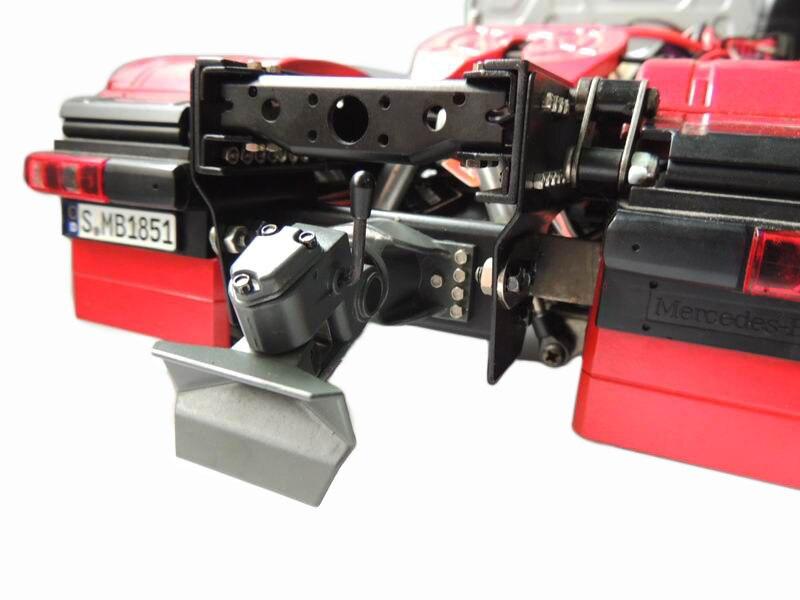 1:14 Tractor Heavy Towing Hook Tail Beam Model Tamiya DIY Truck Dump Truck Military Vehicle Engineering Vehicle enlarge