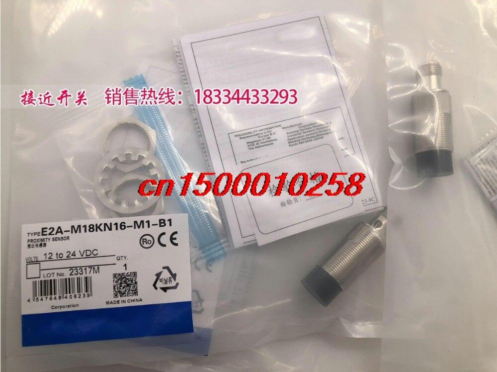 FREE SHIPPING %100 NEW E2A-M18KN16-M1-B1 Proximity switch sensor