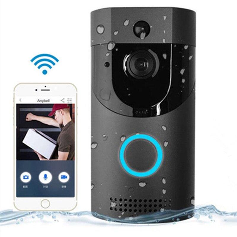 Anjielosmart Tuya Video Doorbell Wireless IP65 Waterproof 720P HD with Real-time Video, Two-Way Talk and PIR Motion Detection enlarge