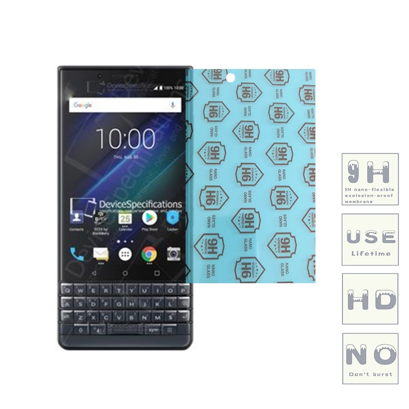 (3-Pack) 9H flexible glass screen protector For BlackBerry ClassicNon/Leap/Priv/KEYone/Aurora/Motion/KEY2/Evolve/EvolveX/Key2 LE