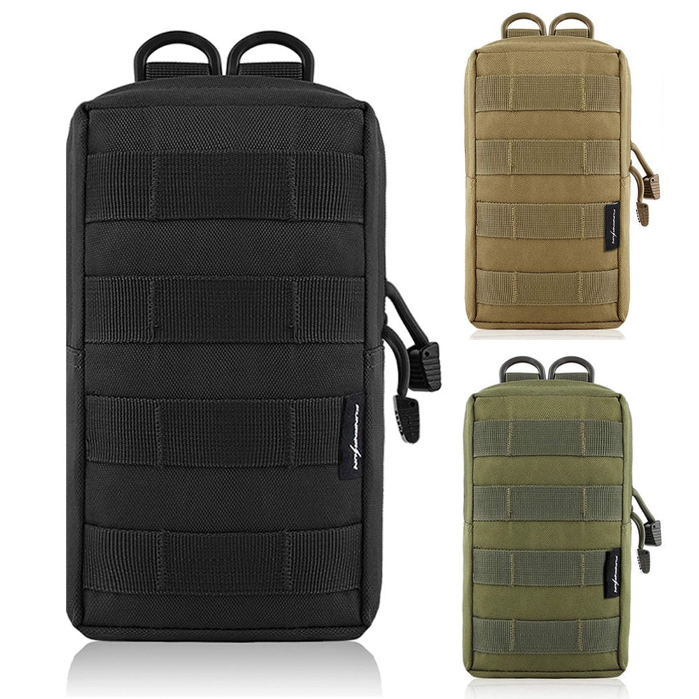 600D táctico EDC Molle bolsa al aire libre chaleco cintura paquete caza mochila accesorio Gadget bolsa de engranajes bolsa compacta resistente al agua