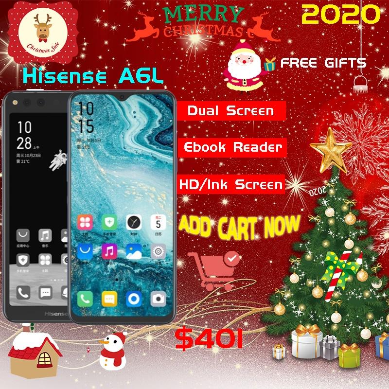 Google Play Snapdragon 660 Android 9.0 Original Smartphone Hisense A6L 6.63