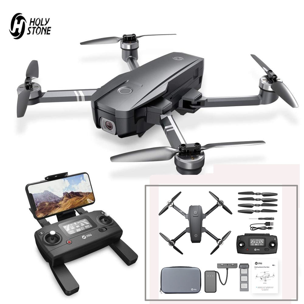 aliexpress.com - Holy Stone HS720 Upgraded 4K Drone GPS 5G FPV Wi-Fi FOV 120°Camera Brushless Quadcopter 26 Minutes Flight Time With Carrying Bag