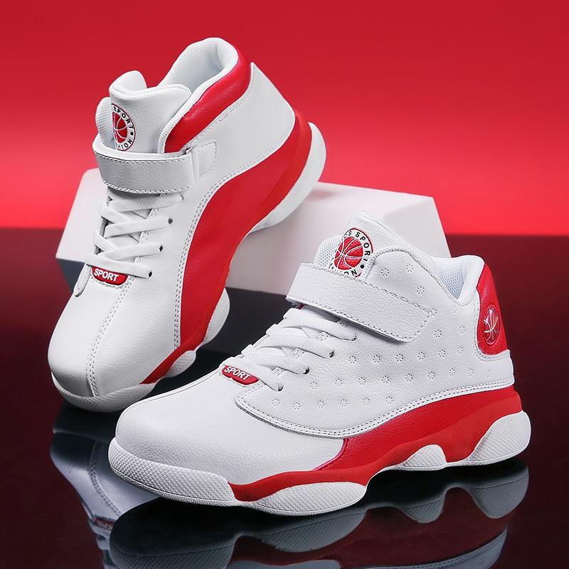 SKHEK-أحذية كرة السلة للرجال والأولاد ، أحذية رياضية خارجية للأطفال ، أحذية رياضية غير قابلة للانزلاق ، مجموعة ربيع 2019 الجديدة