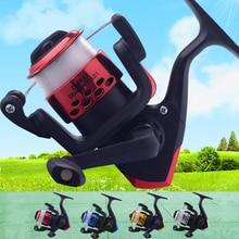 Haute qualité accessoire de pêche moulinet 3 roulements à billes 5.1 1 rapport de vitesse élevé lisse longue coulée puissant moulinet de poisson