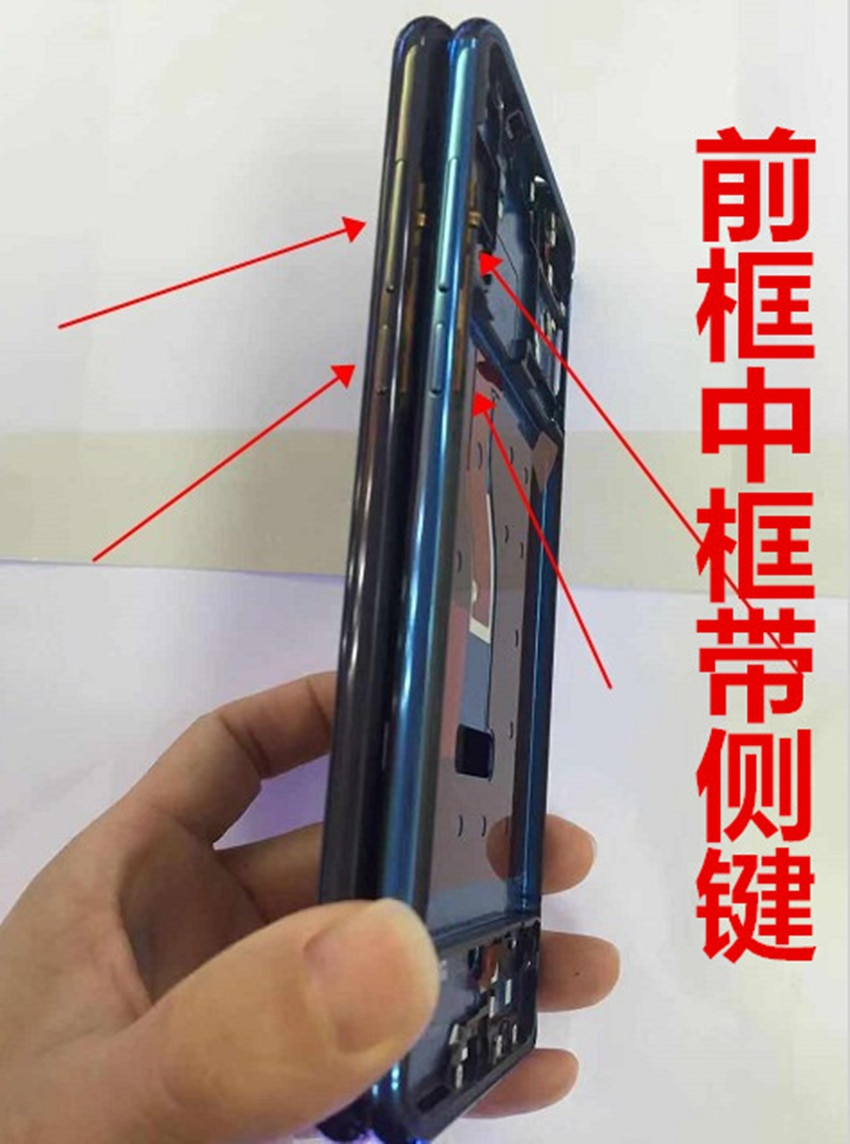 5pcsfor Huawei Nova 4 VCE-AL00 VCE-TL00 Front Housing LCD Frame Bezel Plate with Side Keys for Huawei Nova 4 Spare Parts enlarge