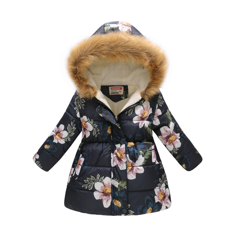 Autumn Winter Girls Jacket For Girls Coat Kids Hooded Warm Outerwear Coat For Girls Clothes Children Jacket 4 5 6 7 8 9 10 Years 2020 autumn winter waterproof windbreaker girls jacket for child hooded star polar fleece girls outerwear coat 3 12t kids jacket
