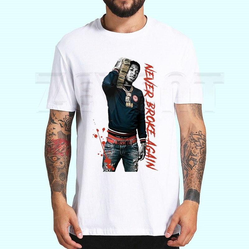 Never Broke Again Men And Women Unisex Print T Shirt Man's T-shirt Male Casual Short Sleeve Tops Harajuku
