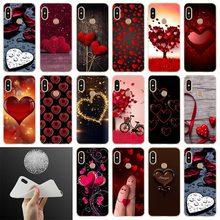 heart Soft Case Cover For Xiaomi Redmi 8a 7a 6pro 6a s2 5a 5plus Note 9 8 7 6 5 4 Pro Coque Funda Etui Phone Cases