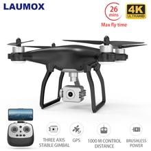 LAUMOX X35 Drone GPS WiFi 4K HD Kamera Profissional RC Quadcopter Bürstenlosen Motor Drohnen Gimbal Stabilisator 26 minuten flug