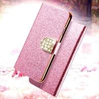 leather case for huawei y6p y8p y8s y9s y5 y6 y7a y9 prime lite y6s 2019 y5 2018 y7p y5p rhinestone flip book case cover