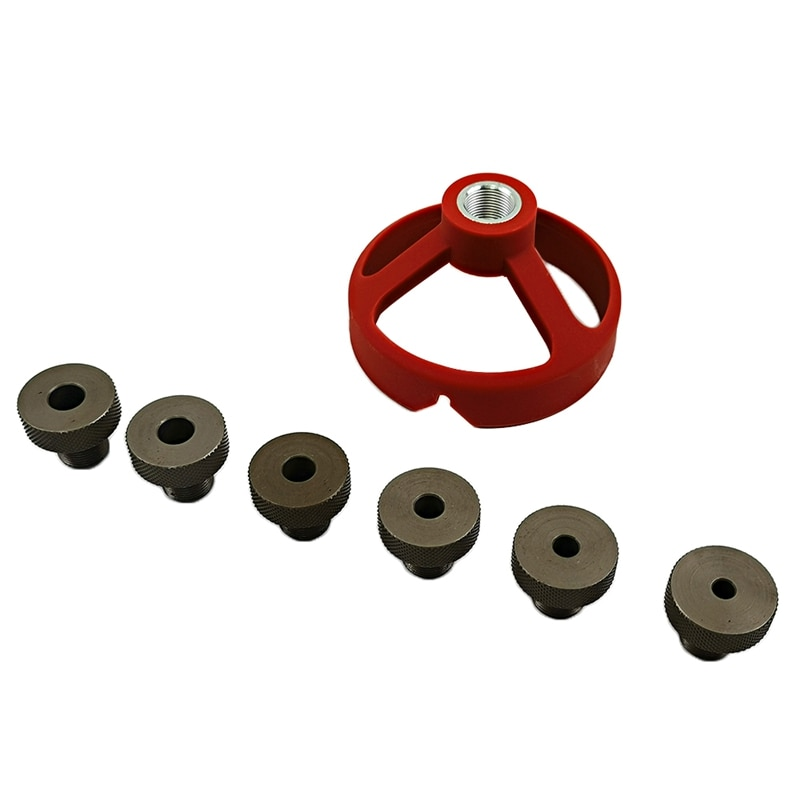 Broca guía de 90 grados, perforadora, perforadora, localizadora, Jig, buje, herramientas de carpintería 5/6/7/8/9/10Mm promoción
