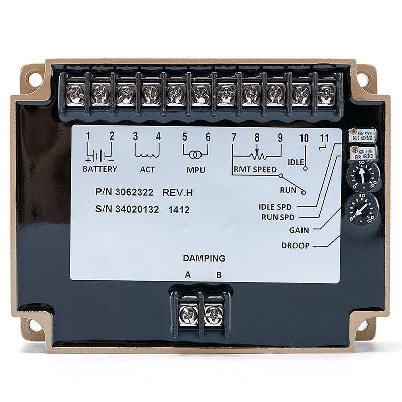 3062322 gerador de velocidade controlador estabilizador regulador elétrico controle do motor placa circuito módulo genset parte