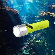 TMWT LED lampe de poche de plongée lumière sous-marine IP68 étanche plongée lumières lampe torche par 4xAA à piles