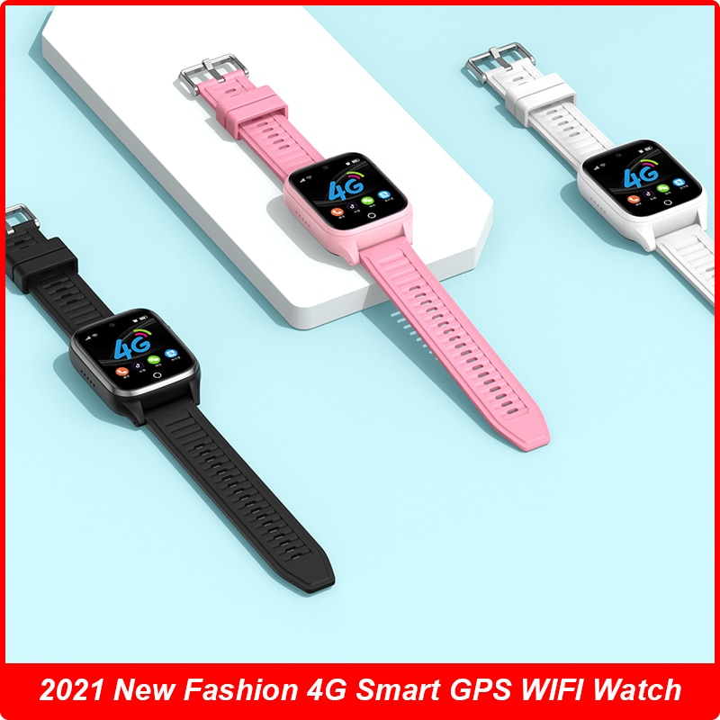 Get 2021 Smart Watch Men Lady Kids Watch E-fence Android 8.1 OS Payment Video Call GPS 16GB 800mAh Waterproof Wifi Clock Smartwatch