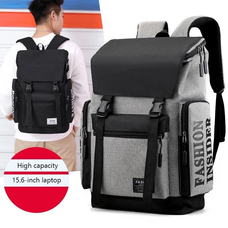 Мужской рюкзак, рюкзак для рыбалки, мужской спортивный дышащий износостойкий водонепроницаемый рюкзак для рыбалки, простой дорожный рюкза...