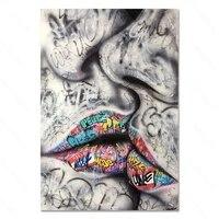 Peinture de diamant couleur Graffiti  bricolage  diamant rond fait a la main  decoration de maison  materiau acrylique pour chambre a coucher