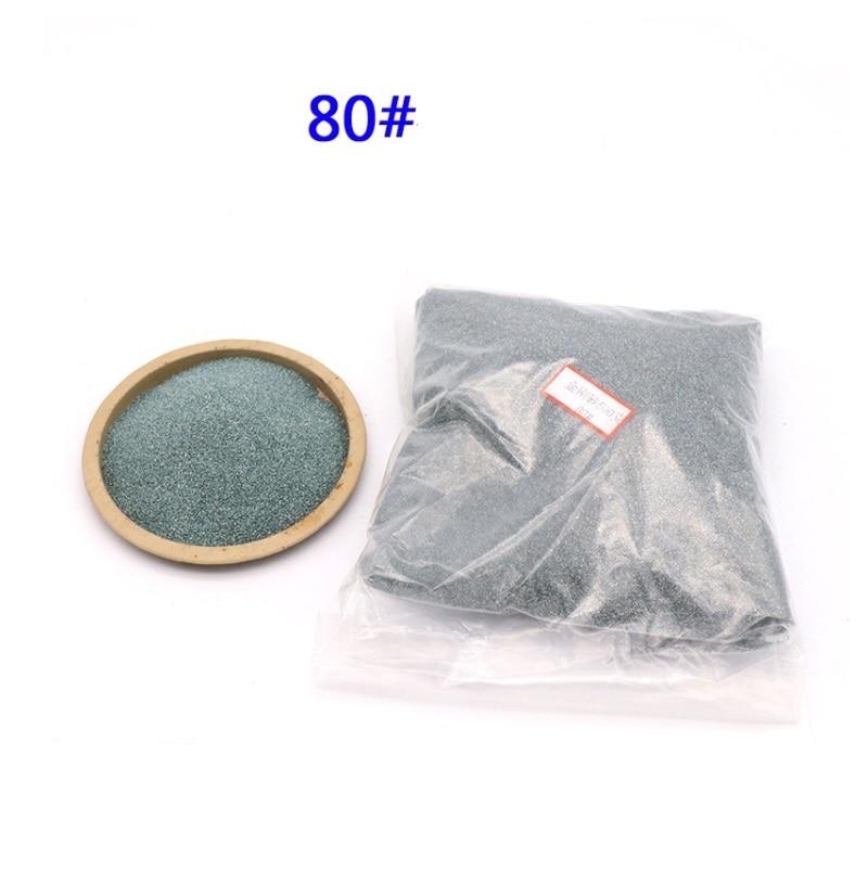 Máquina de arenado de piedra de carburo de silicio verde hardware de pulido de precisión lámparas de vidrio polvo de pulido 46-2000mesh