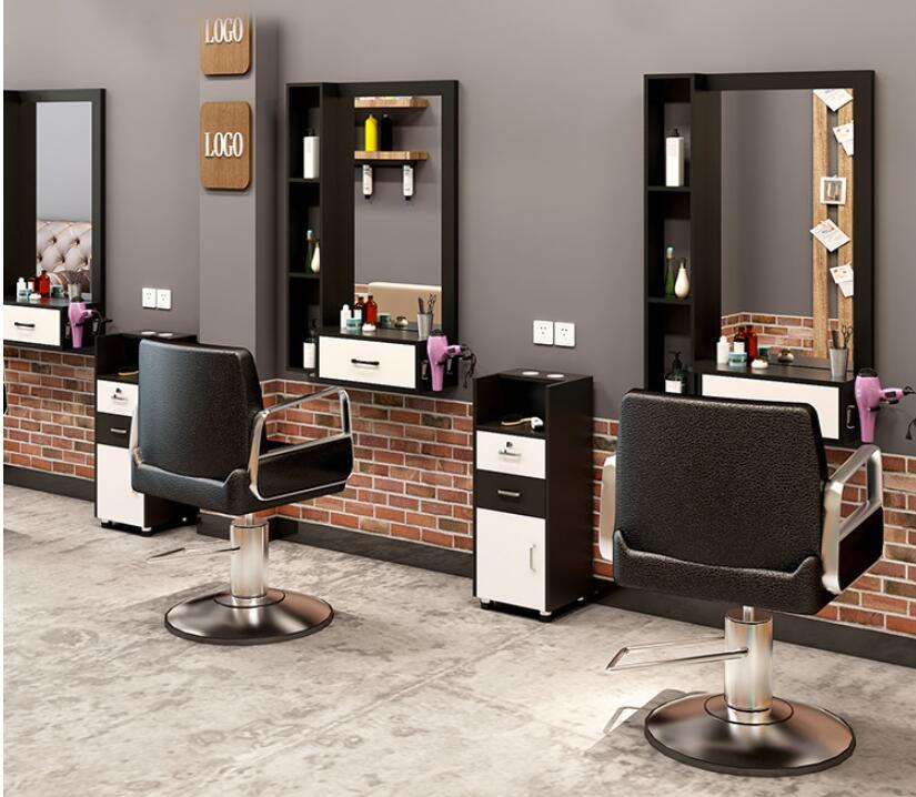 Зеркало для парикмахера, салонный стол, шкаф, стол, интегрированный настенный, для парикмахерской