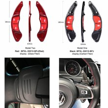 DEE-remplacement de volant en carbone   Extensions de palette de vitesse pour Volkswagen VW GOLF 7 Golf7 2015- GTI R MK7 Scirocco