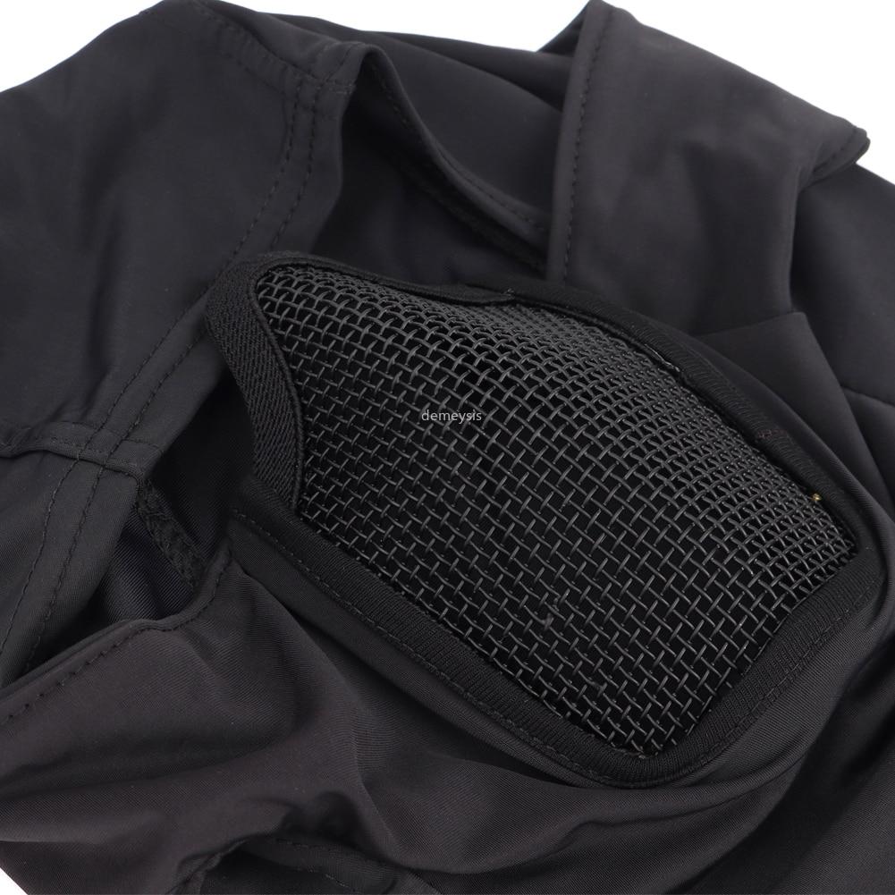 Tactisch volgelaatsmasker bivakmuts voor motor-, leger-, airsoft- en - Het schieten - Foto 6