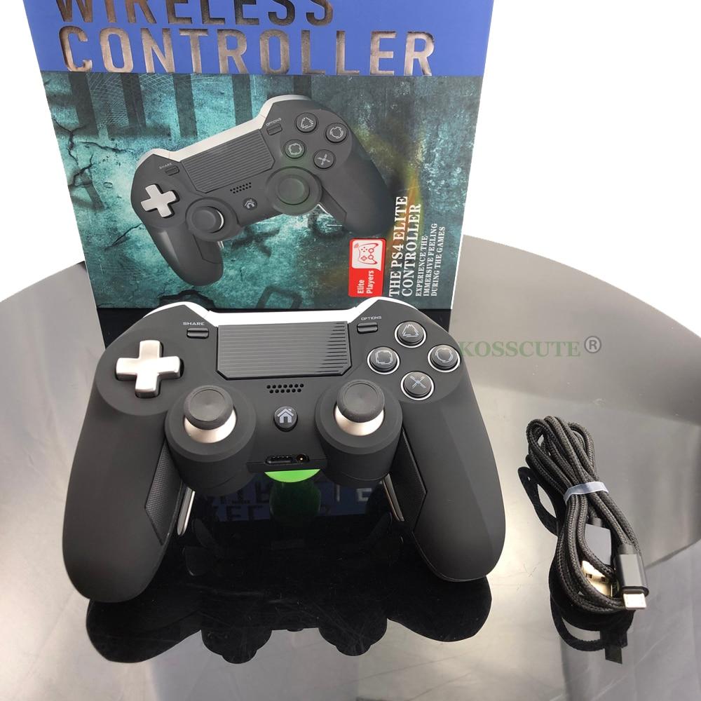 Elite-وحدة تحكم ألعاب لاسلكية لجهاز PS4 ، وحدة تحكم ألعاب فيديو PS3/PC ، اهتزاز مزدوج