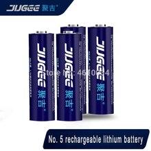 4 pièces JUGEE 1.5v 3000mWh AA rechargeable li-polymère li-ion polymère batterie au lithium bon comme kentli ne pas inclure chrger