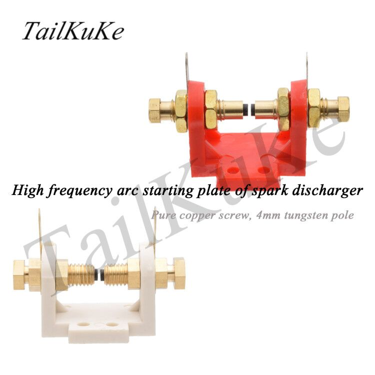 2pcs Inverter Argon Arc Welding Machine Plasma High Frequency Arc Igniter Spark Discharger Screw Pure
