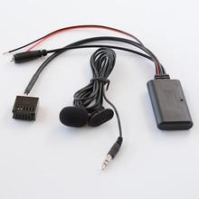 Biurlink 6000CD Bluetooth Audio AUX Eingang Adapter Smartphone Aufruf Freisprecheinrichtung Mikrofon Kabel für Ford focus mondeo 6000CD