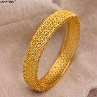 24k dubai gold bangles for women gold dubai bride wedding ethiopian bracelet africa bangle arab jewelry gold charm kids bracelet