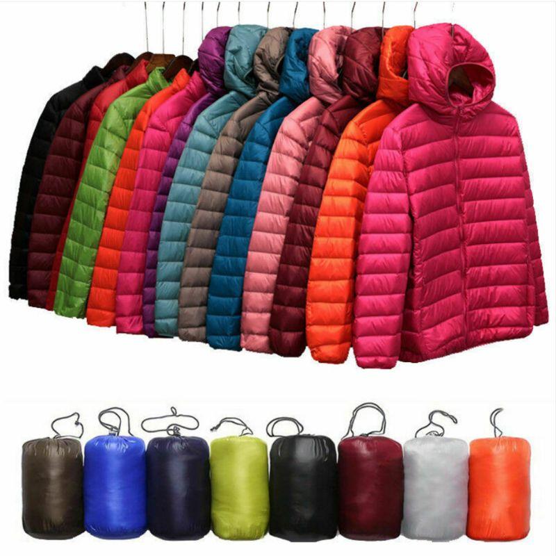 Women's Uniqlo Style Duck Down Lightweight Jacket Winter Outerwear Coat Puffer 2019 New Fashion блузка uniqlo 2015 138948