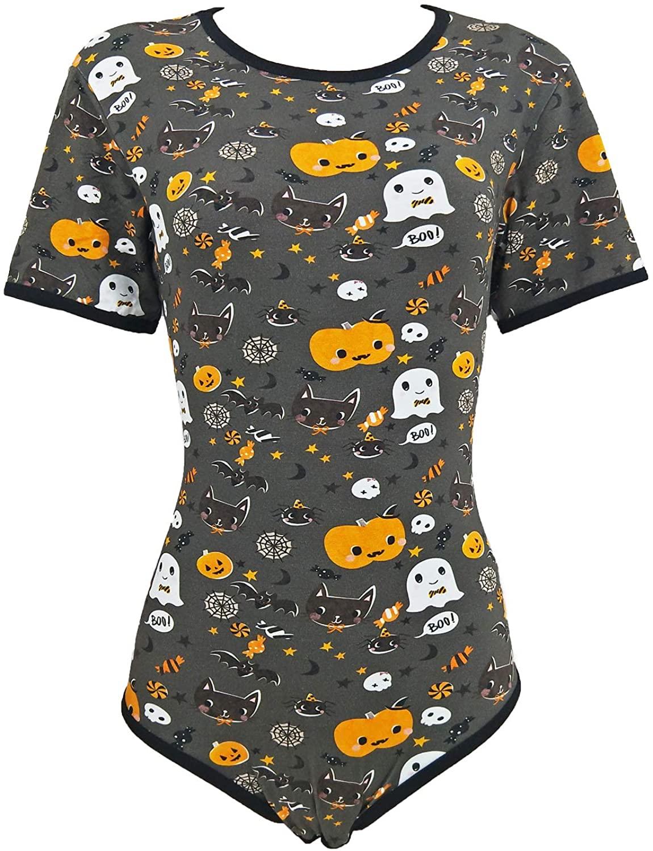 Abdl-بدلة رومبير بأكمام قصيرة للأطفال والكبار ، ملابس جميلة للأطفال ، ملابس عالية الجودة ، مفتوحة عند المنشعب ، Ddlg ، Daddy Dom ، Little Space Cotton