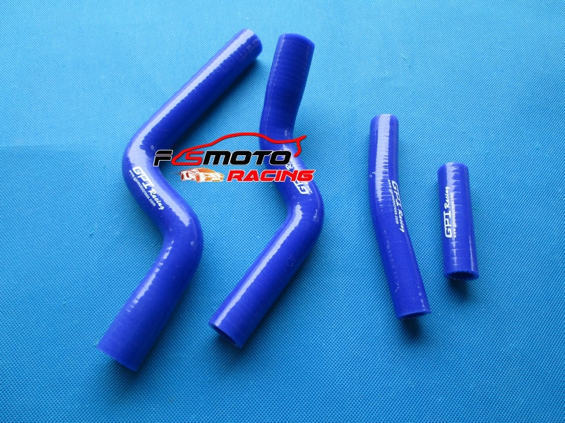 De silicona de la manguera del radiador para Yamaha YZF250 YZ250F 07 08 09 2007 de 2008 a 2009