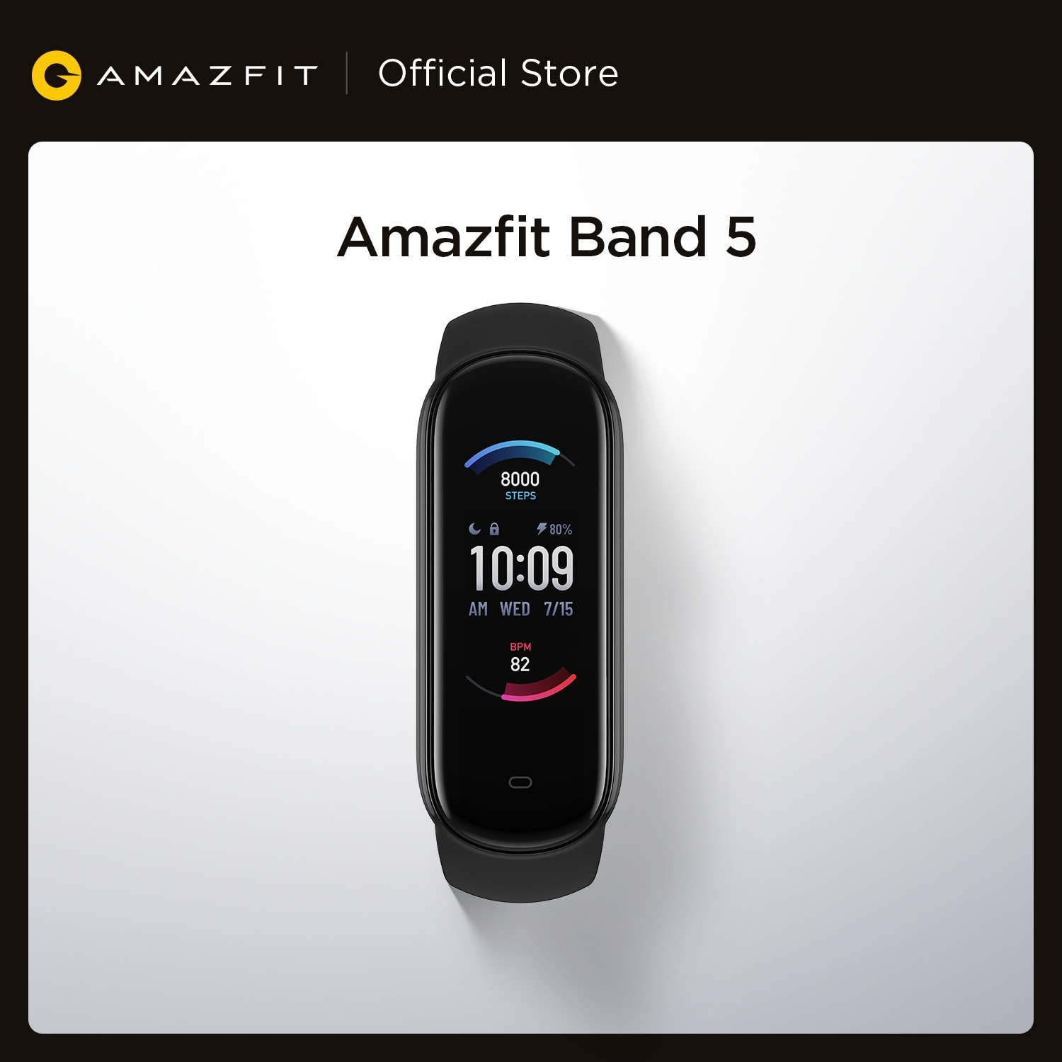 2020 New Amazfit Band 5 Smart Bracelet Color Display Heart Rate Fitness Tracker Waterproof Bluetooth 5.0 Sport Smart Wristband