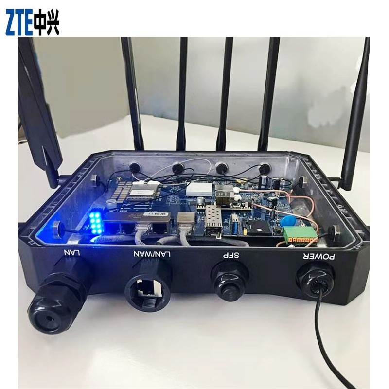 ZTE Industry Wireless CPE Router MC6010 2021 New Powerful Factory Office Outdoor 4G 5G WiFi Industrial Router enlarge