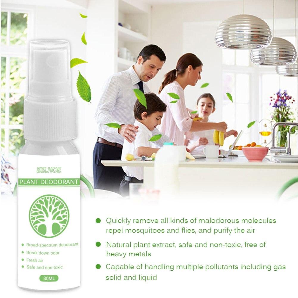 Новый Спрей освежитель воздуха для ванной комнаты, отделитель запаха, растительный дезодорант, растительные экстракты, 30 мл/100 мл VA88