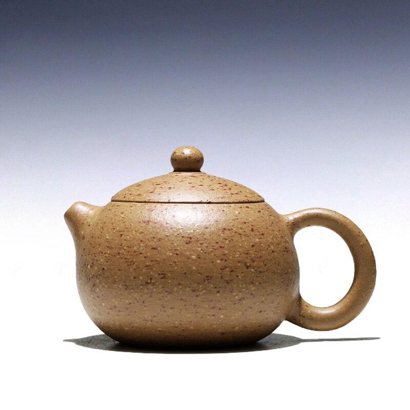 وعاء جوي 】 yixing الموصى به JiJunHe إبريق شاي يدوي نقي بدون ملابس, وعاء 230 سم مكعب