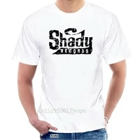 shady records logo t shirt hip hop rap slim shady eminem detroit revival emcees top quality t shirts men o neck top tee 102122