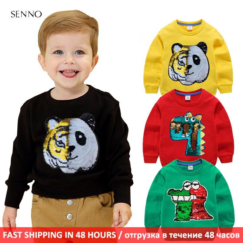 Tigre cambiar a Panda niños bebés niñas niños pequeños sudaderas con capucha chándal de dibujos animados niños ropa conjunto lindo sudaderas