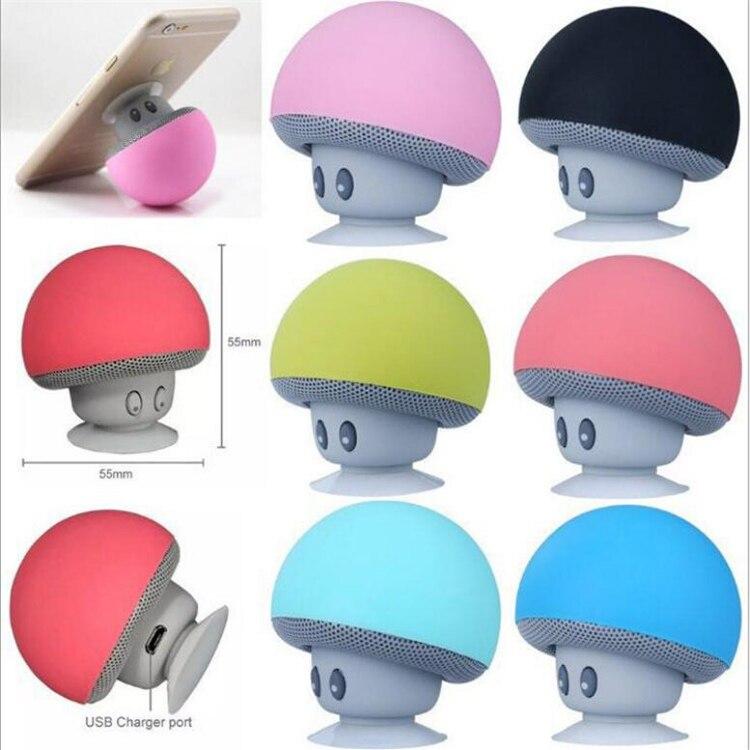 Mini Wireless Bluetooth Speaker Mushroom Portable Waterproof Shower Stereo Subwoofer Music Player For Phone enlarge