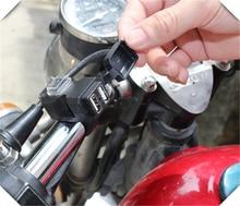 Motosiklet aksesuarları cep telefonu şarj cihazı su geçirmez adaptör SUZUKI GSF600 Bandit GS1000 GS500E GS550M GSX1100F Katana