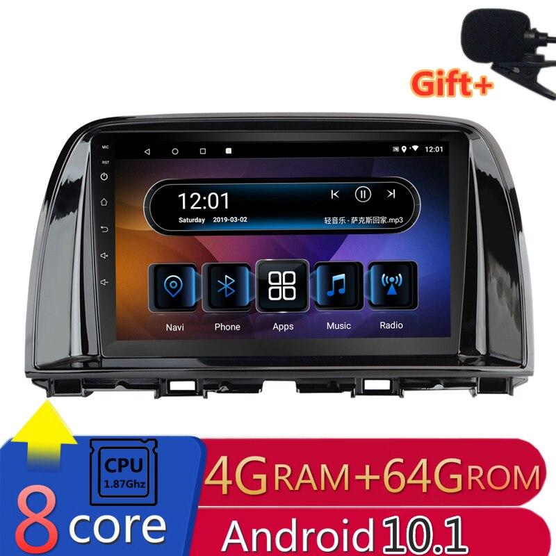 "9 ""IPS 8 Core IPS Android 10,1 coche DVD reproductor Multimedia GPS para Mazda CX-5 2012, 2013, 2014, 2015 radio de audio navegación 4G RAM"