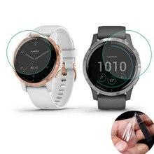 Мягкая прозрачная защитная пленка для Garmin Vivoactive 4/4S GarminActive S Watch Vivoactive 4, Защитная пленка для экрана (не стекло)