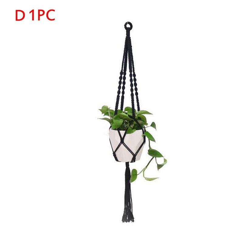 Ручной работы подвесные корзины держатель для растений Подвеска для растений из макраме держатель для растений