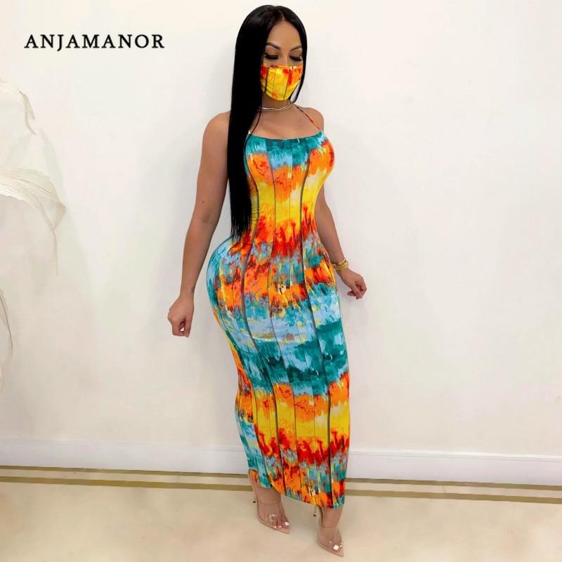 2020 moda sem costas maxi vestidos plus size das mulheres roupas sexy vestido de clube D29-CF31